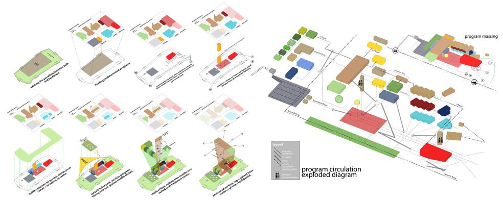 Psychiatric health nucleus for Hotel program design