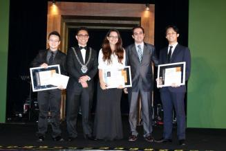 Three scholarships awarded a year